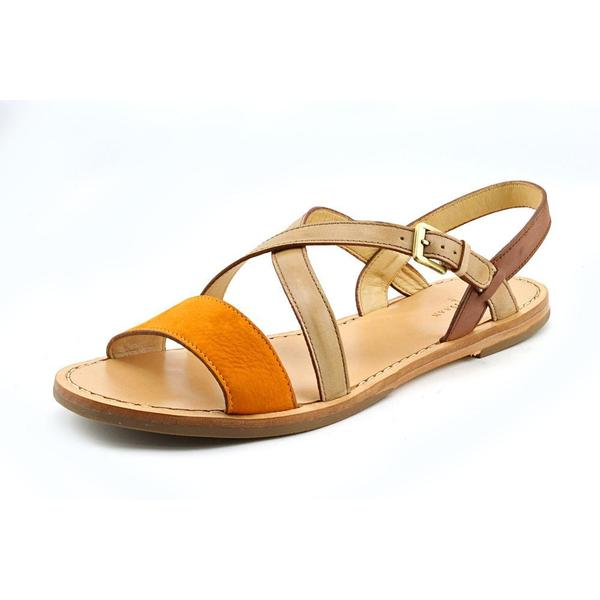 Cole Haan Women's 'Minetta Flat.Sandal' Leather Casual Shoes