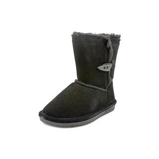 Bearpaw Girl (Youth) 'Abigail Toddler' Regular Suede Boots