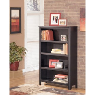 Signature Design by Ashley Carlyle Almost Black Medium Bookcase