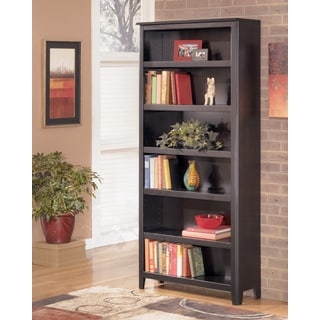 Signature Design by Ashley Carlyle Almost Black Large Bookcase