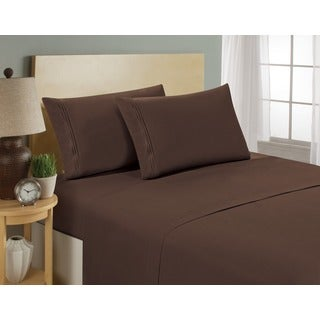 Matisse Hotel Collection Microfiber 4-piece Bed Sheet Set