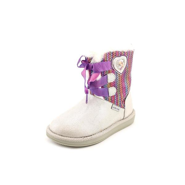 Stride Rite Girl (Toddler) 'Disney Frozen Cozy Boot' Basic Textile Boots