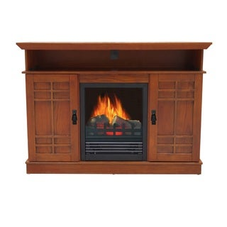 Augusta Entertainment Center Fireplace