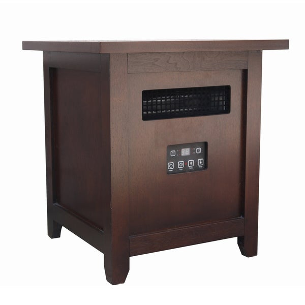 Shelby Place Dark Brown Infrared End Table