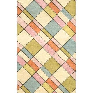 Blocks Pastel Indoor Rug (8' x 10')