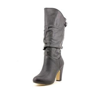 Madden Girl Women's 'Sharlene' Faux Leather Boots (Size 10 )