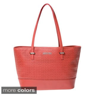 Kenneth Cole Reaction 'Duplicator' Square Pattern Tote
