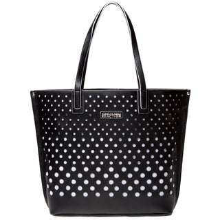 Kenneth Cole Reaction 'Bubbles' Black and White Tote