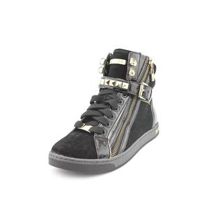 Michael Kors Women's 'Glam Studded High Top' Regular Suede Athletic Shoe (Size 9 )