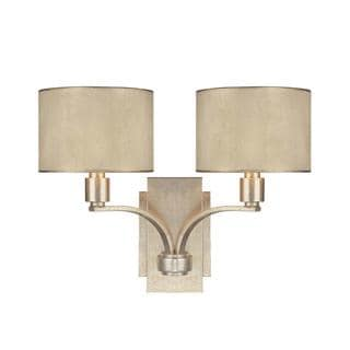 Capital Lighting Luna Collection 2-light Painted Winter Gold Wall Sconce