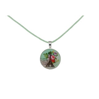 Be The Envy Satin Vintage Paris Necklace