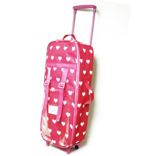 The New York Doll Collection 18-inch Doll Suitcase with Sleeping Bag