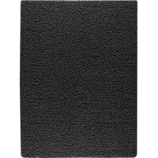 M.A.Trading Hand-woven Square Charcoal New Zealand Wool Rug (3'x 5'4)