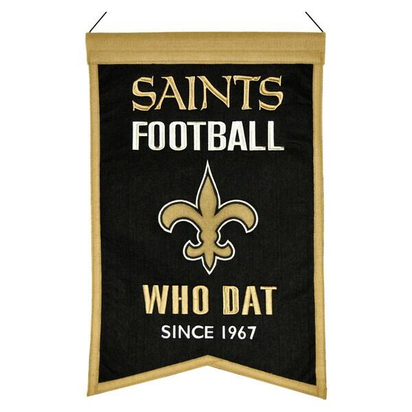Winning Streak New Orleans Saints Franchise Banner