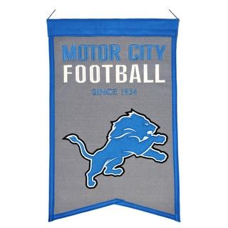 Winning Streak Detroit Lions Franchise Banner