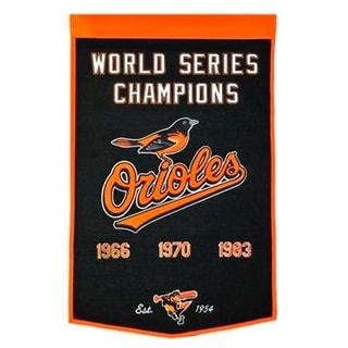 Winning Streak MLB Baltimore Orioles Baseball Dynasty Banner