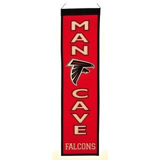 Winning Streak NFL Atlanta Falcons Man Cave Embroidered Banner