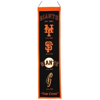 Winning Streak MLB San Francisco Giants Wool Heritage Banner