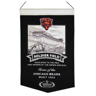 Winning Streak NFL Chicago Bears Wool Stadium Banner
