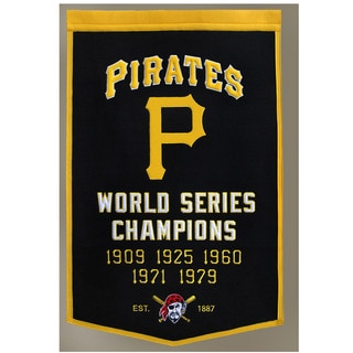 Winning Streak MLB Pittsburgh Pirates Baseball Dynasty Banner