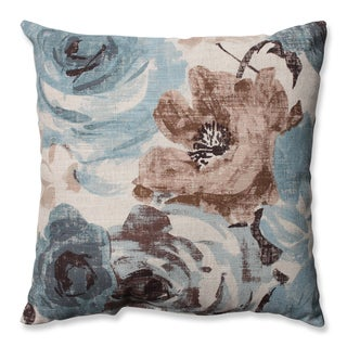 Pillow Perfect Andora Robins Egg Throw Pillow