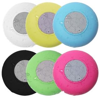 OxGord Waterproof Round Bluetooth Shower Speaker