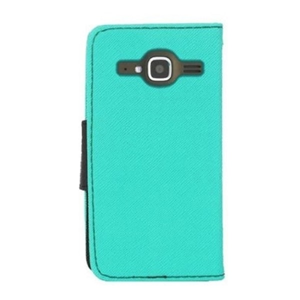 INSTEN Stand Leather Folio Book-Style Flip Phone Case Cover For ZTE Concord II Z730