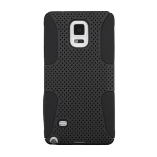 INSTEN Astronoot Dual Layer Hybrid Rubberized Hard PC/ Silicone Phone Case Cover For Samsung Galaxy Note 4