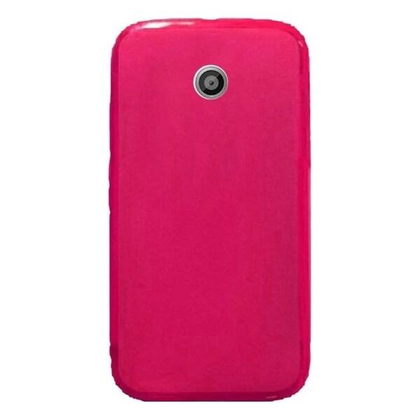 INSTEN TPU Rubber Candy Skin Phone Case Cover For Motorola Moto E