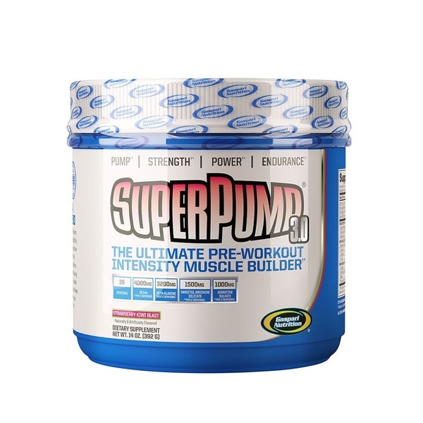Gaspari Nutrition Superpump 3.0 Strawberry Kiwi Blast (36 Servings)