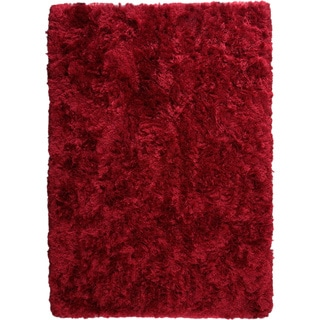 Hand-woven Duba Wine Rug (4'6x 6'6)