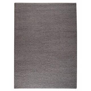 Hand-woven Ladh Grey New Zealand Wool Rug (4'6x 6'6)
