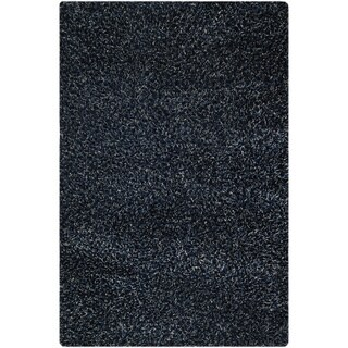 Hand-woven Cosm Blue Area Rug (5'2 x 7'6)