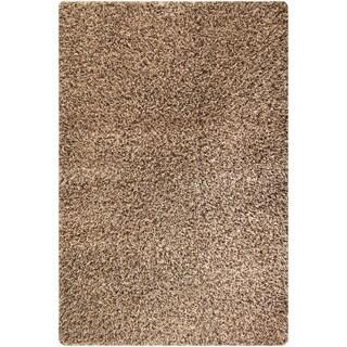 Hand-woven Cosm Tan Area Rug (5'2 x 7'6)