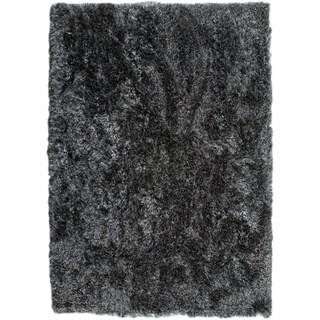 M.A.Trading Hand-woven Dubai Licorice Area Rug (5'6 x 7'10)