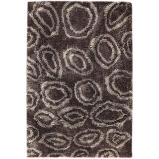 Hand-tufted Isla Grey/ Brown Area Rug (7'10 x 9'10)