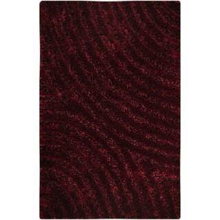 Hand-tufted Tweed Mauve Area Rug