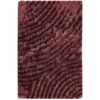 Hand-tufted Twee Purple Area Rug (7'10 x 9'10)