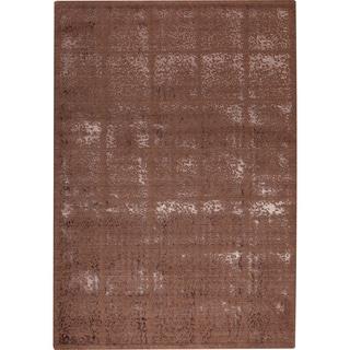 Susq Brown New Zealand Wool Rug (7'10x9'10)
