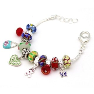 Bleek2Sheek 'Carnival' European-style Charm Bracelet