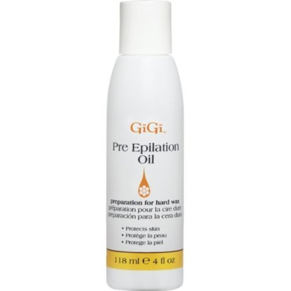 Gigi Lotions Pre-Epilating 4-ounce Oil 14388025