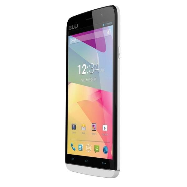 BLU Studio 5.5 S D630u White Unlocked GSM Dual-SIM Android Smartphone (Refurbished)