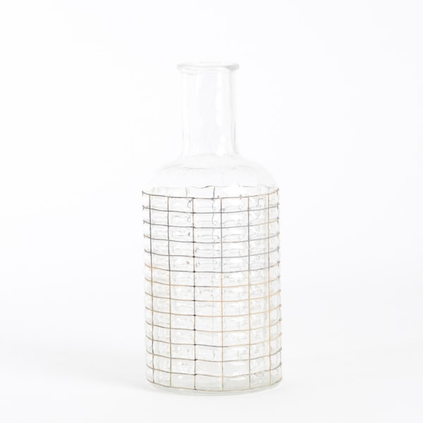 Bottle Glass Vase