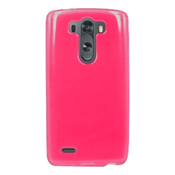 INSTEN TPU Rubber Candy Skin Phone Case Cover For LG G3 Beat/G3 Mini/G3 S