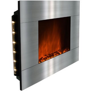 Golden Vantage 36-inch OS510GPB-GV Wall Mount Indoor Electric Fireplace Heater