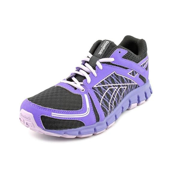 Reebok Men's 'Smoothflex Flyer' Mesh Athletic Shoe - Wide (Size 9 )
