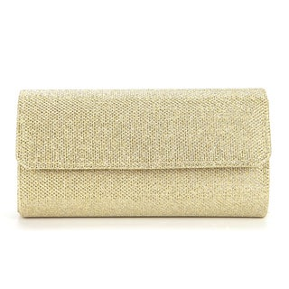 Anladia Women's Small Gold Evening Clutch