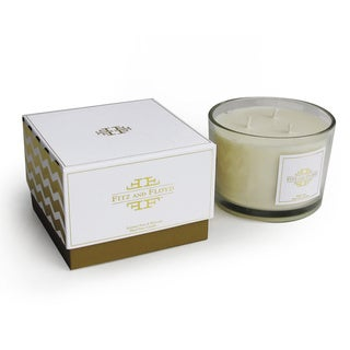 Chevron 3-wick Summer Pear Jar Candle