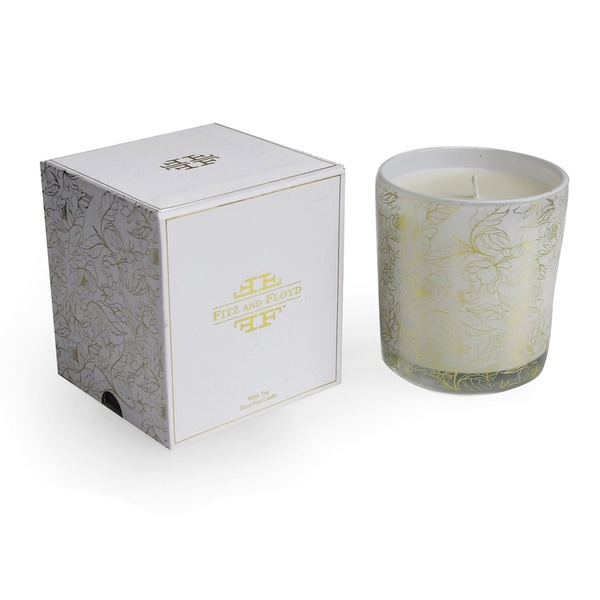 Floral Filled White Tea Scent Candle