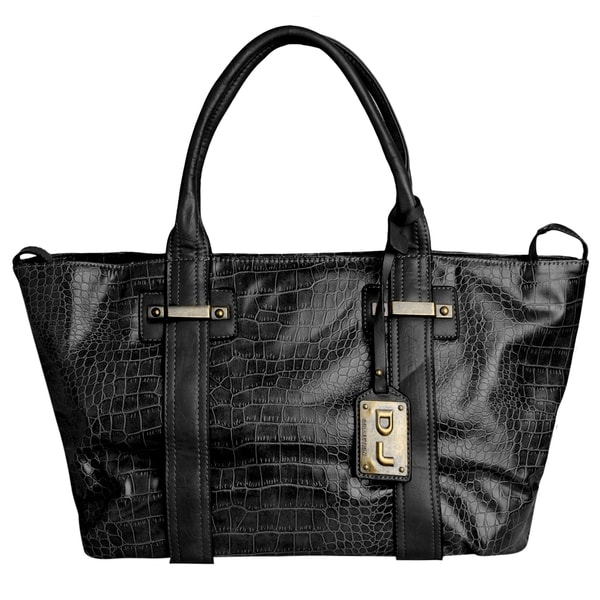 celine bag handbag - David Jones Women's Faux Crocodile Tote Bag - 16825919 - Overstock ...